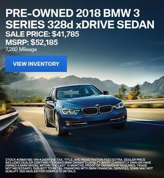 2018 BMW 3 Series 328d xDrive Sedan - Offer