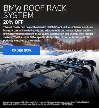 BMW Roof Rack System - July