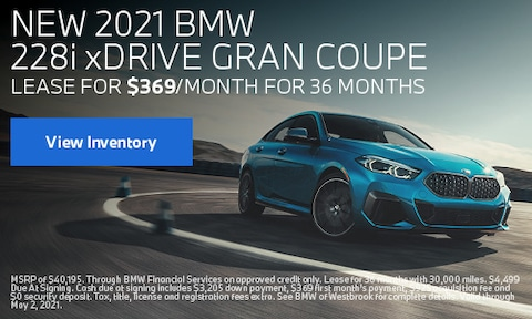 New 2021 BMW 228i xDrive Gran Coupe - April