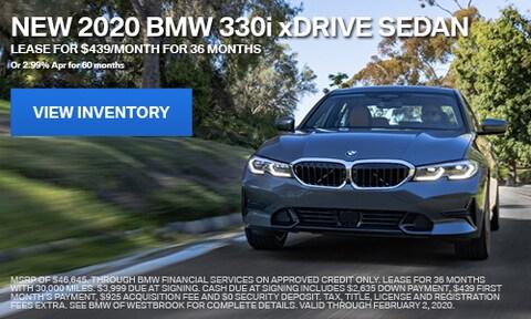 New 2020 BMW 330i xDrive Sedan - Jan