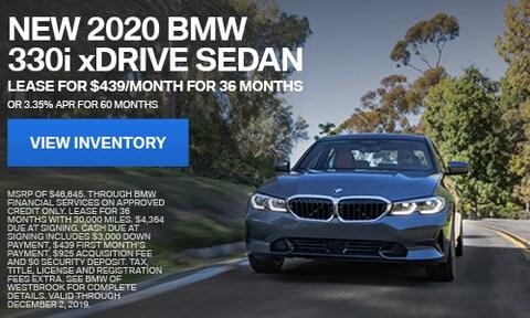 New 2020 BMW 330i xDrive Sedan - Nov