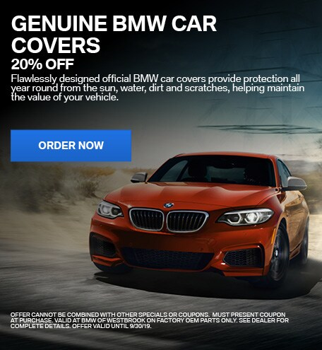 20% Off Genuine BMW Car Covers