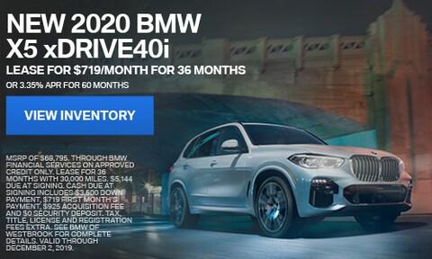 New 2020 BMW X5 xDrive40i - Nov