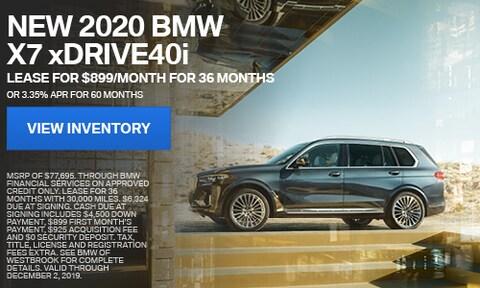 New 2020 BMW X7 xDrive40i - Nov