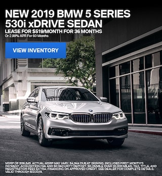 2019 BMW 5 Series 530i xDrive - Lease