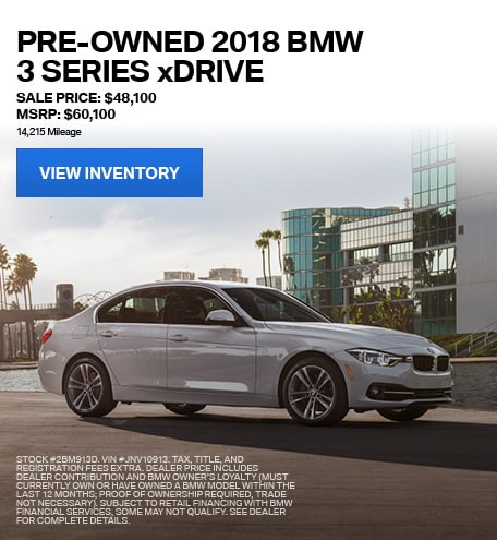 2018 BMW 3 Series xDrive - Sale