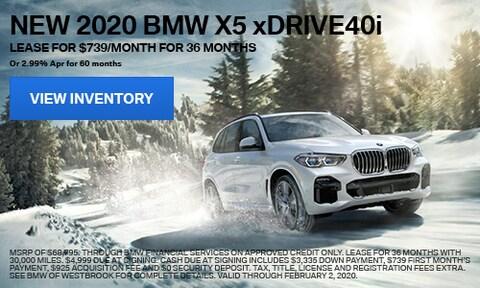 New 2020 BMW X5 xDrive40i - Jan