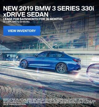 2019 BMW 3 Series 330i xDrive - Lease