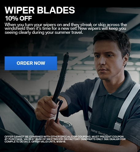 Wiper Blades - 10% Off