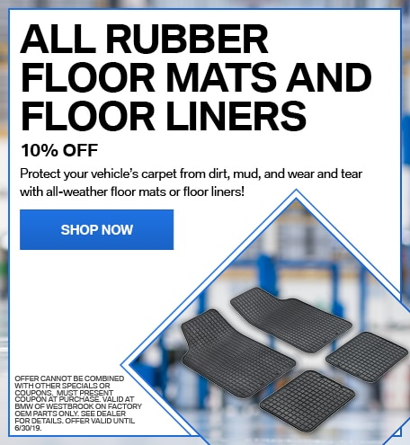 10% OFF All Rubber Floor Mats and Floor Liners
