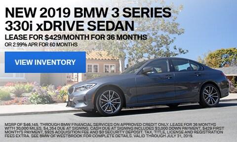 New 2019 BMW 3 Series 330i xDrive Sedan - July '19