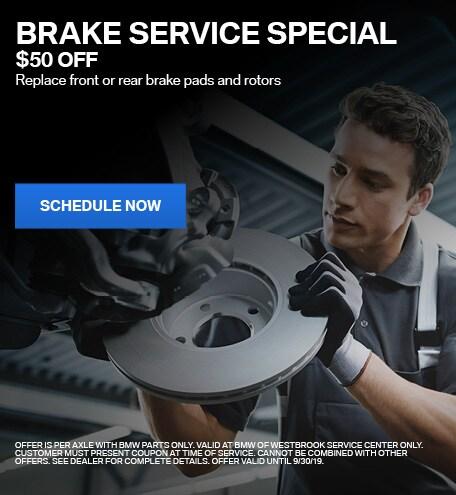 Brake Service - $50 Off