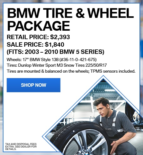 BMW Tire & Wheel Package