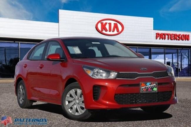 New 2020 Kia Rio S Sedan For Sale/Lease Wichita Falls, Texas