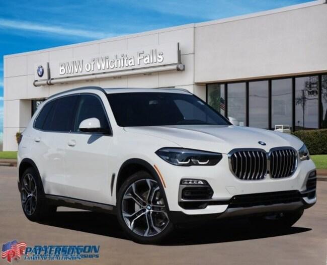 New 2020 BMW X5 sDrive40i SAV For Sale/Lease Wichita Falls, Texas