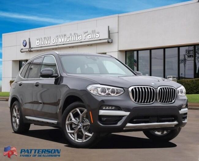 New 2020 BMW X3 sDrive30i SAV For Sale/Lease Wichita Falls, Texas