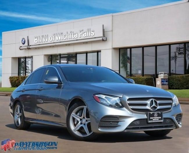 Certified Pre-Owned 2017 Mercedes-Benz E-Class E 300 Sedan For Sale Wichita Falls, Texas