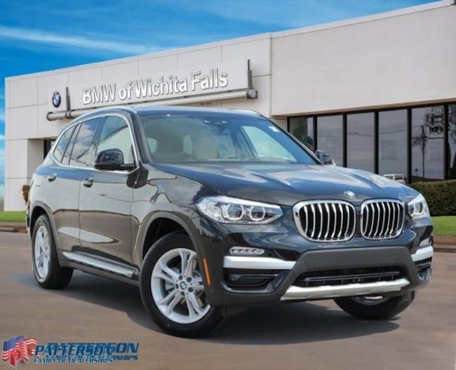 New 2019 BMW X3 sDrive30i SAV For Sale/Lease Wichita Falls, Texas