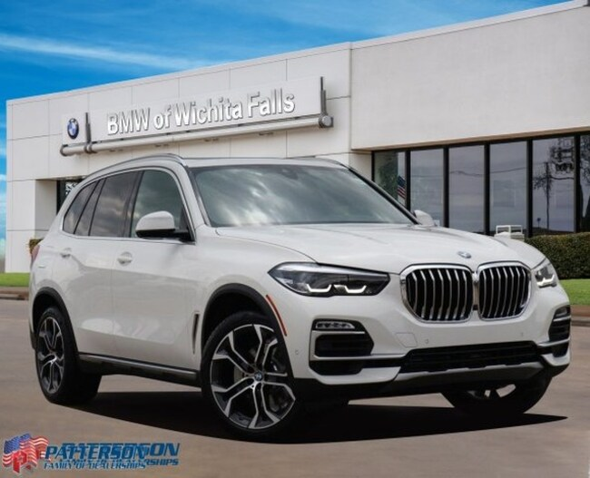 New 2019 BMW X5 xDrive40i SAV For Sale/Lease Wichita Falls, Texas