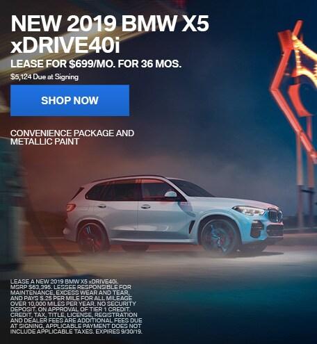 2019 BMW X5 10/4/2019