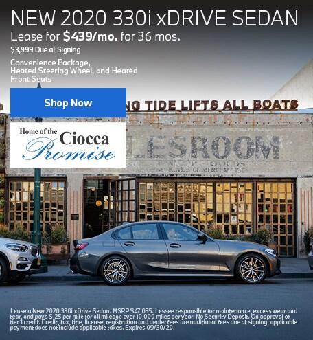 New 2020 330i xDrive Sedan