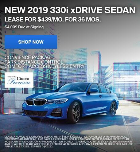 New 2019 330i xDrive Sedan