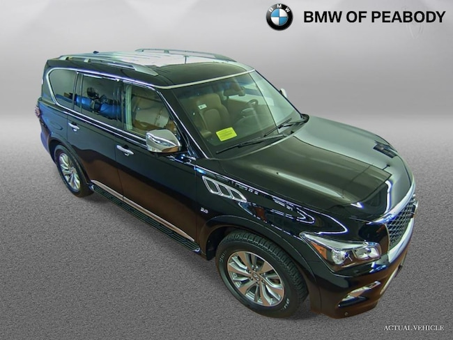 Used 2016 INFINITI QX80 4WD 4dr in Greater Boston   PreOwned MA BMW
