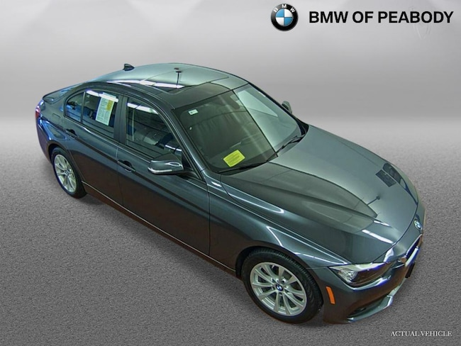 2016 BMW 320i 4dr Sdn 320i xDrive AWD Car