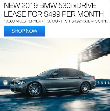 NEW 2019 BMW 530i xDRIVE OFFER