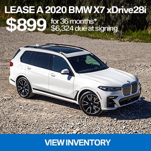 Lease a 2020 BMW X7 xDrive40i For $899