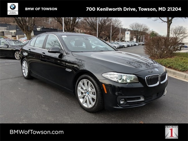 Bmw 535I Xdrive >> Pre Owned 2016 Bmw 535i For Sale At Bmw Of Towson Vin
