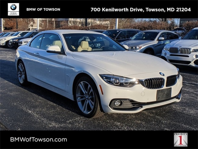 2019 BMW 430i xDrive Convertible