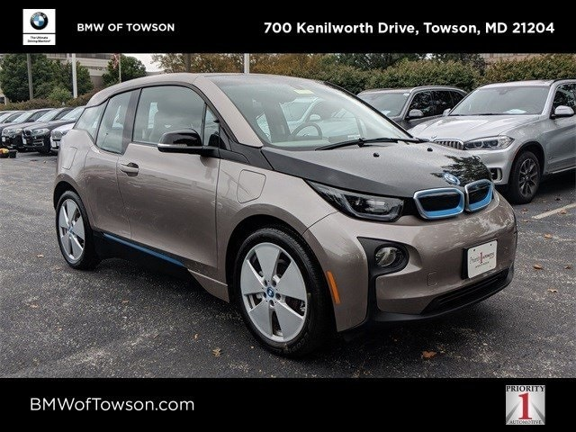 Pre-Owned 2015 BMW i3 with Range Extender For Sale at BMW of Towson | VIN:  WBY1Z4C50FV504051