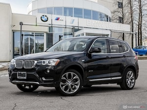 2016 BMW X3 Xdrive28i W/ Nav! Financing Available!