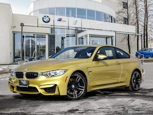 2017 BMW M4 Coupe W/ Nav! Financing Available!