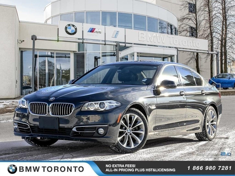 2015 BMW 528i Xdrive W/ Nav! Financing Available!