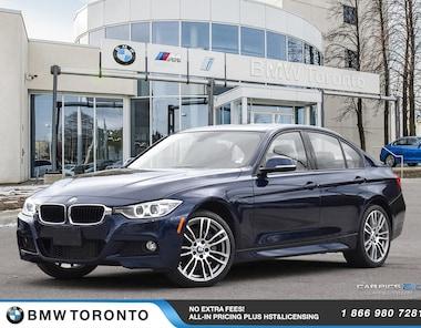 2015 BMW 335i Xdrive Sedan W/ Nav! Financing Available!