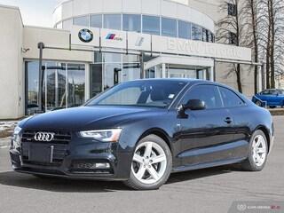 2014 Audi A5 2.0 8sp Tiptronic Technik Cpe W/ Nav! Financing Av