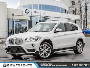 2018 BMW X1 Xdrive28i W/ Nav! Financing Available!