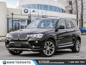 2015 BMW X3 Xdrive28i W/ Financing Available!