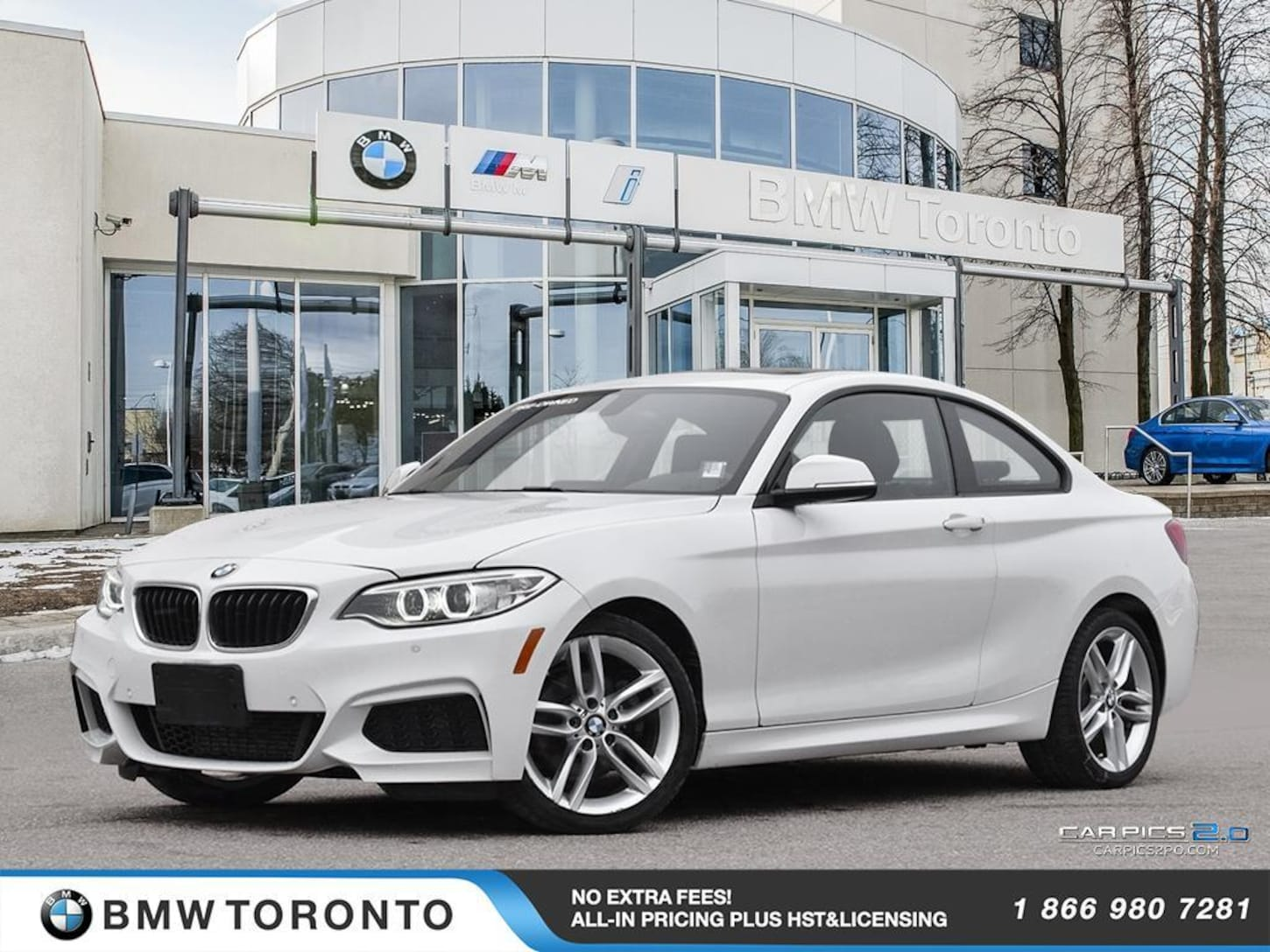 2016 BMW 228i Xdrive Coupe W/ Nav! Financing Available!