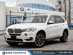 2016 BMW X5 Xdrive35i W/ Nav! Financing Available!