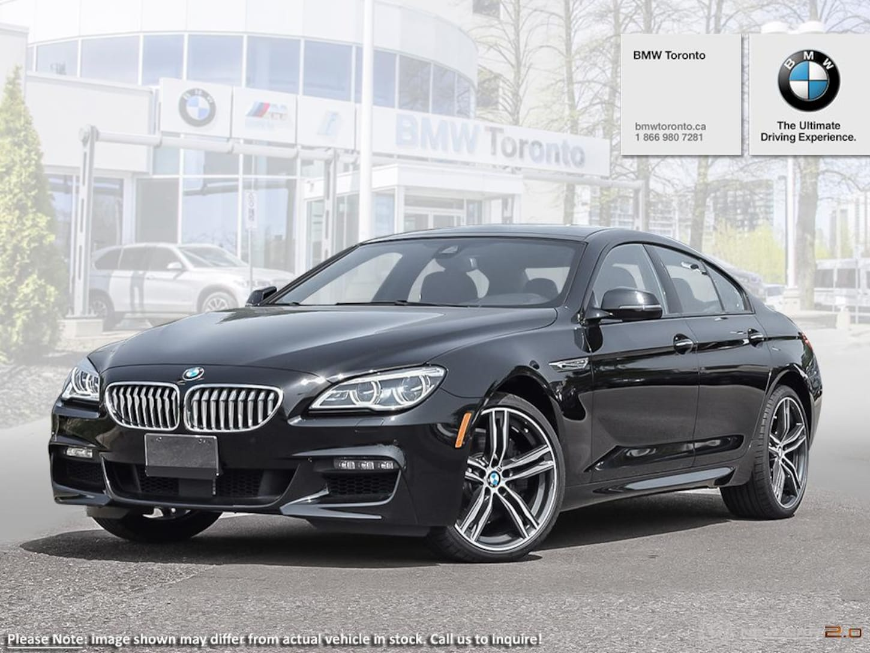 2019 BMW 650i Xdrive Gran Coupe