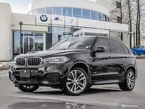 2016 BMW X5 Xdrive35i W/ M-Sport! Nav!