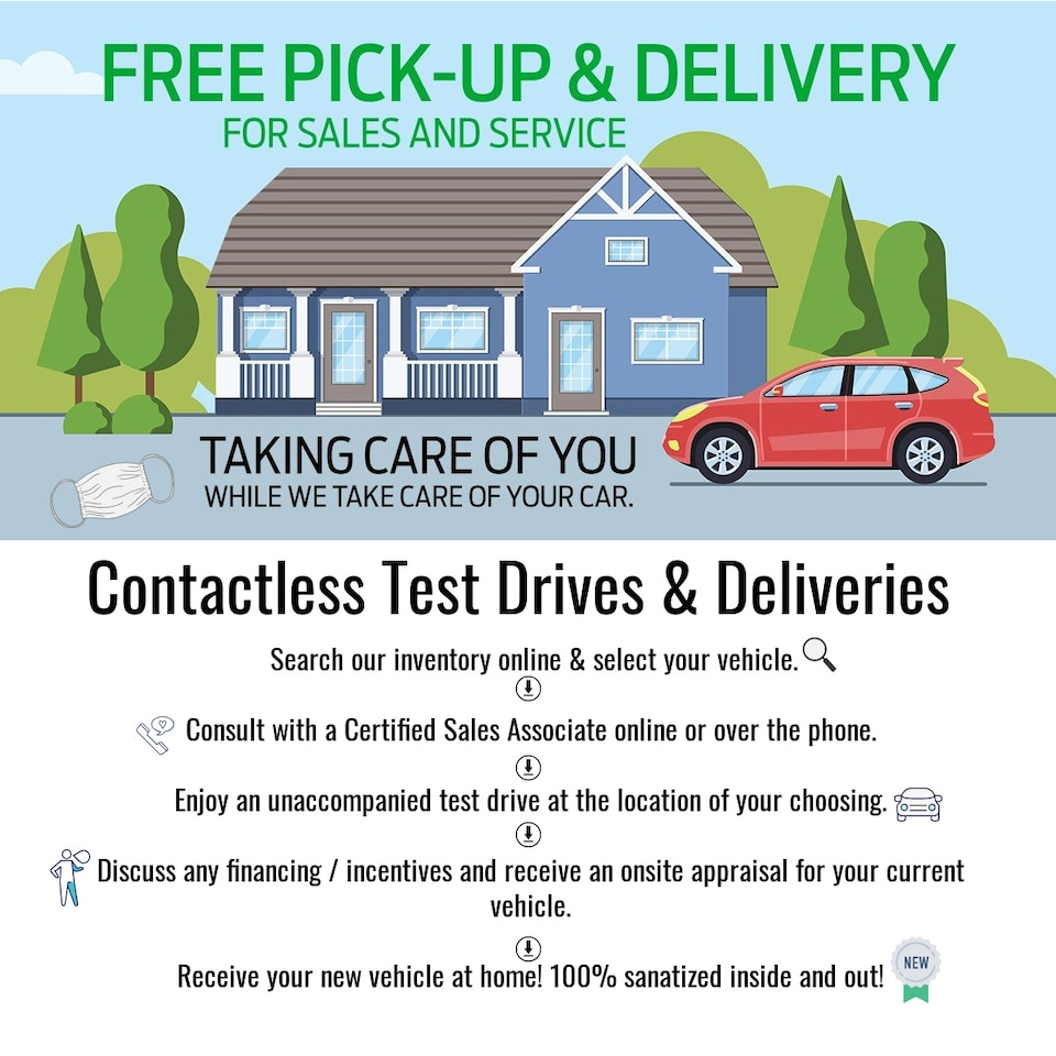 Contactless Test Drives & Deliveries