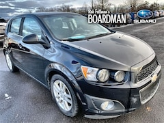 Bargain Used 2012 Chevrolet Sonic 2LT Hatchback 1G1JC6SH0C4127967 for Sale in Boardman, OH