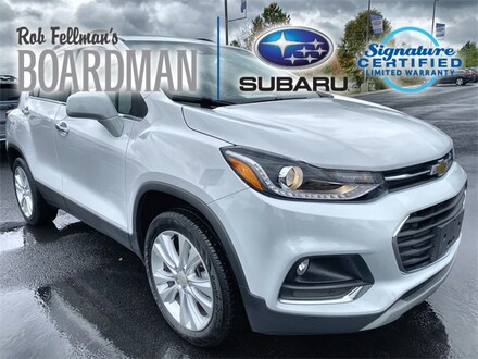 Featured Used 2018 Chevrolet Trax Premier SUV 3GNCJRSB2JL326794 for Sale in Boardman, OH