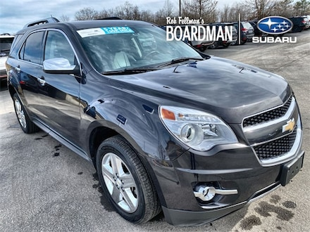 Featured Used 2015 Chevrolet Equinox LTZ SUV 2GNFLHEK4F6240153 for Sale in Boardman, OH