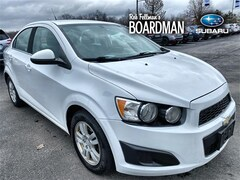 Bargain Used 2014 Chevrolet Sonic LT Sedan 1G1JC5SG2E4101066 for Sale in Boardman, OH