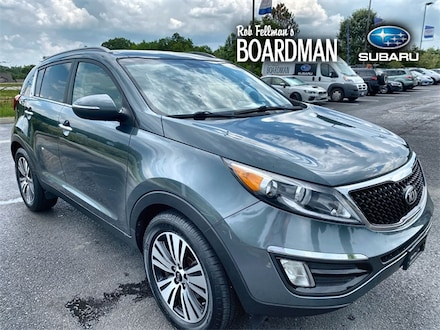 Featured Used 2015 Kia Sportage EX SUV KNDPC3AC9F7674406 for Sale in Boardman, OH